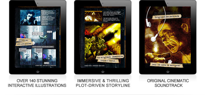 over 140 stunning interactive illustrations. Immersive and thrilling plot-driven storyline. Original cinematic soundtrack.